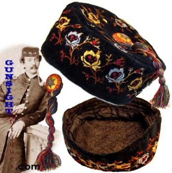 Civil War era SMOKING CAP (Image1)