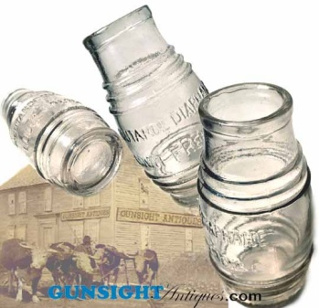 Civil War era French Mustard Jar (Image1)
