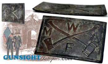 Gettysburg recovery 'Modern Woodmen of America' - Drill Team BELT PLATE (Image1)