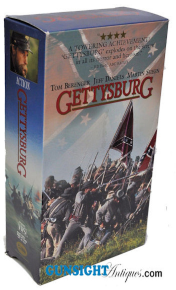 GETTYSBURG - the movie on VCR (Image1)
