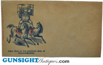 Civil War era �John Bull� -  SATIRICAL  ENVELOPE (Image1)