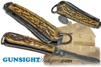 Civil War era FOLDING KNIFE  (Image1)