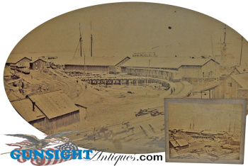 City Point, Virginia - 1864 Matthew Brady photograph (Image1)
