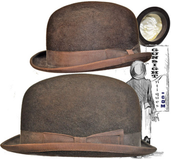 stylish BROWN DERBY (Image1)