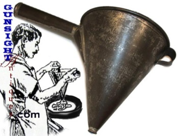 19th Century Handcrafted - Tin Funnel Cake Maker
