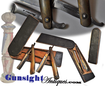 Outstanding Pre 1812 W. Greaves Traveling Razor Set