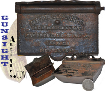 PAT. 1864  SELF CLOSING  MATCH BOX (Image1)