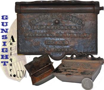 PAT. 1864  SELF CLOSING  MATCH BOX (Image1)