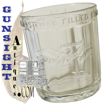 antique Borden Eagle Brand Condensed Milk Jar (Image1)