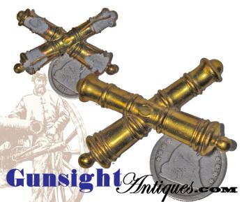 W. STOKES KIRK - Civil War surplus - Mounted Artillery HAT DEVICE  (Image1)