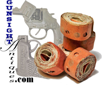 antique toy Cap Gun – CAPS (5 rolls) (Image1)