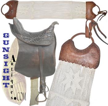 fine antique - Saddle Girth Strap  (Image1)