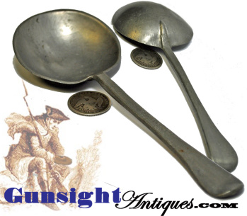 18th century Pewter SPOON (Image1)