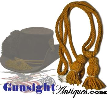 Original! -Civil War era CAVALRY  HAT CORD (Image1)