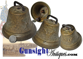 Civil War & earlier U. S. ARMY BELL (Image1)