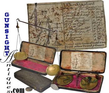18th century CASED BALANCE SCALES (Image1)