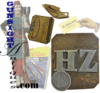 Francis Lord collection- post Civil War HOUSUM ZOUAVES belt plate. (Image1)