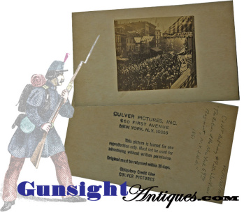 69th New York -'fighting Irish'-1861 Return From Bull Run - Period Albumen