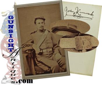 Civil War CDV – Pvt. John Kummerle – 8th N.Y. ('Washington Grays')- Killed In Action  (Image1)