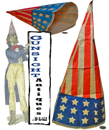 19th Century Patriotic Paper Hat