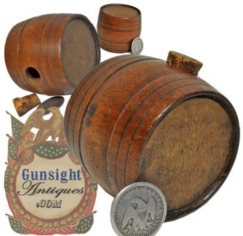 outstanding little 1700s early 1800s - RUNDLET or SWIGLER (Image1)
