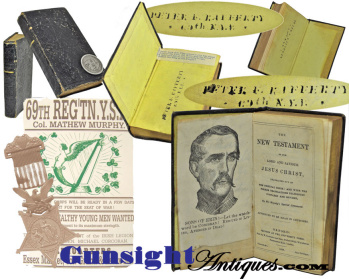69th Ny - Irish Brigade - Medal Of Honor Recipient's - Pocket Testament