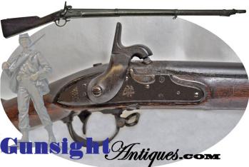 Civil War era percussion conversion - U. S. SPRINGFIELD Mod. 1840 Musket (Image1)