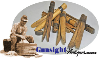 hand crafted Civil War vintage CLOTHES PINS  (Image1)