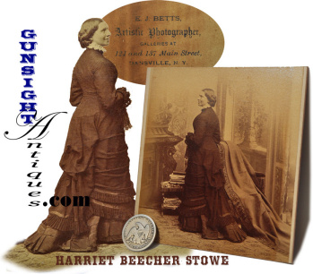 Period Albumin - Civil War Nurse & Founder: American Red Cross - Clara Barton