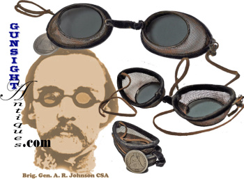 Civil War era PROTECTIVE GLASSES (Image1)