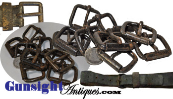 Original Antique Roller Buckles