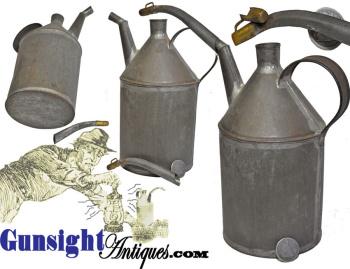 Civil War era LAMP OIL TIN (Image1)