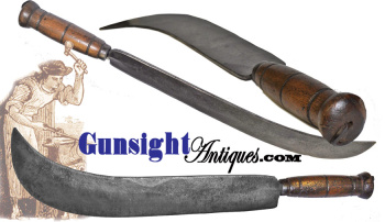 massive Colonial / Revolutionary War era Hand Wrought Knife (Image1)