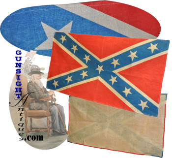 c. 1940s  Confederate Stars & Bars - BANNER (Image1)