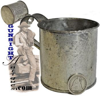 Civil War era personal TIN CUP (Image1)