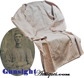 Original! Civil War era man's COTTON SHIRT (Image1)