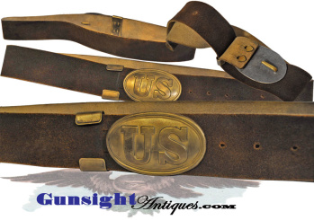 unissued condition - Pattern of 1839 enlisted U. S. WAIST BELT  (Image1)