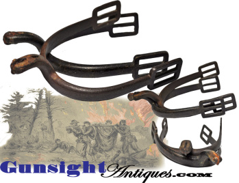 Stanley Phillips collection - Battle of the Wilderness recovered SPURS (Image1)