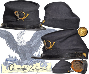 Enlisted Infantry - Pattern of 1872  Forage Cap (Image1)