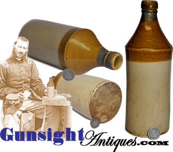Quart - Stoneware Beer Bottle (Image1)