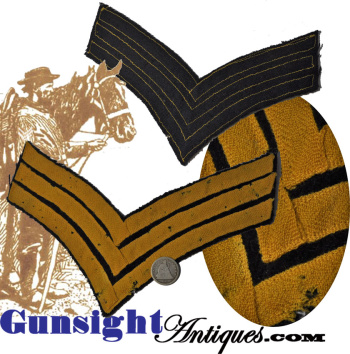 original - Civil War era Cavalry Sargent   STRIPES (Image1)