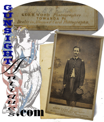 Civil War CDV - Identified 52nd Pennsylvania Infantry Officer (Image1)