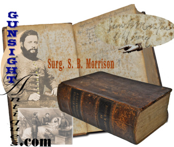 1851 Dispensatory Of Cs Surgeon S. B. Morrison - In Attendance At The Death Of Stonewall Jackson