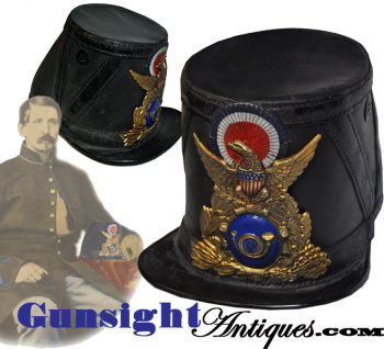 Civil War IMPORT INFANTRY SHAKO (Image1)