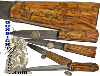 nautical theme – hand crafted Antique Belt Knife  (Image1)