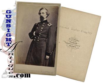 Brig. Gen. George F. Shepley – Anthony / Brady CDV (Image1)
