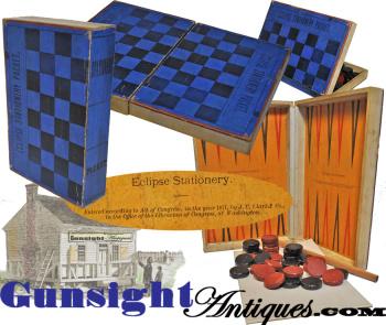 c. 1871  STATIONARY / GAME BOX (Image1)
