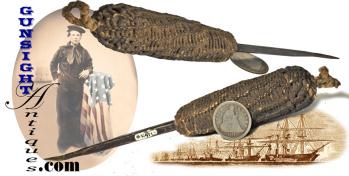 antique macramé – SAILOR'S AWL  (Image1)