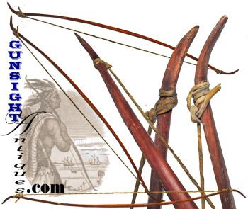 original! antique  Native American Bow  (Image1)