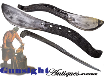 Knife - Blacksmith Forged From A Horse Shoe